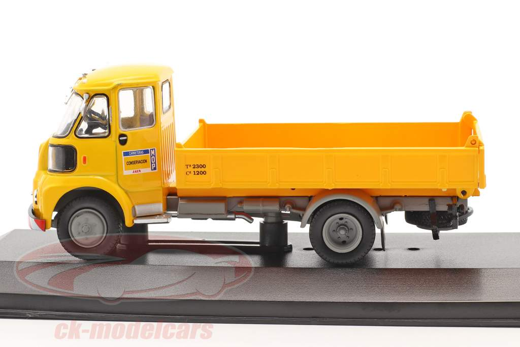 Sava BMC S-66 Camión MOP Año de construcción 1962 amarillo 1:43 Altaya