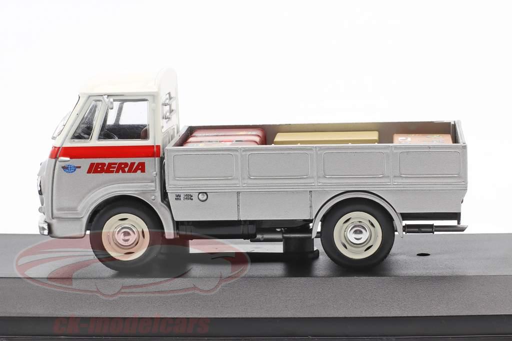 Fadisa Romeo 2 Transporter Iberia Baujahr 1965 silber / weiß / rot 1:43 Altaya