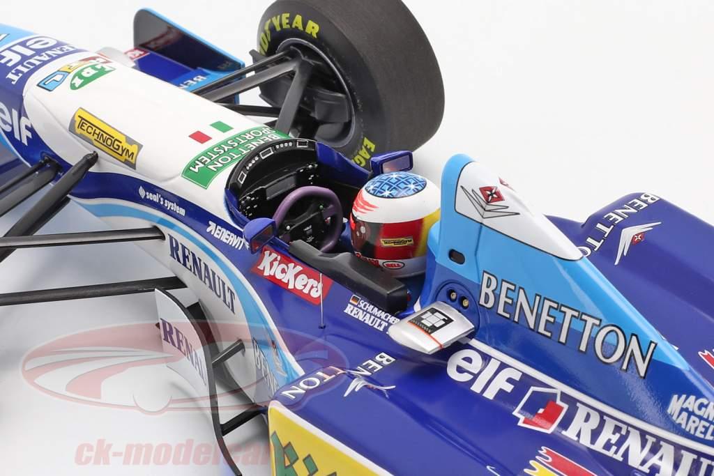 M. Schumacher Benetton B195 #1 Deutschland GP F1 Weltmeister 1995 1:18 Minichamps