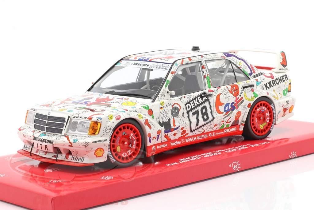 Mercedes-Benz 190E 2.5-16 Evo 2 #78 DTM 1991 Ellen Lohr 1:18 Minichamps