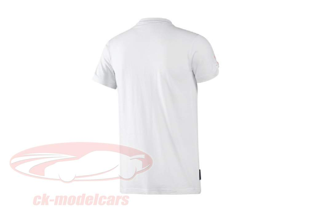 Porsche V-hals T-shirt Porsche Speedster Adidas hvid