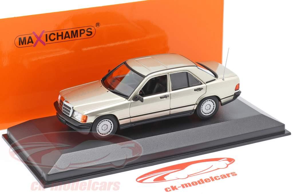 Mercedes-Benz 190E (W201) Baujahr 1984 silber metallic 1:43 Minichamps