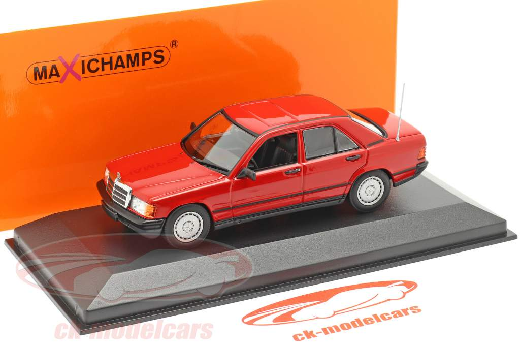 Mercedes-Benz 190E (W201) year 1984 red 1:43 Minichamps