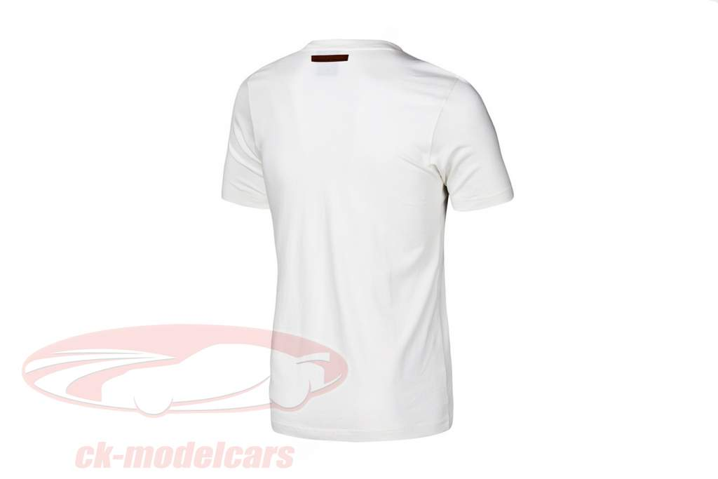 Porsche T-shirt Porsche 550 Double Victory Adidas white
