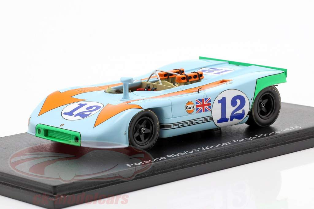 Porsche 908/03 #12 Sieger Targa Florio 1970 Siffert, Redman 1:43 Spark