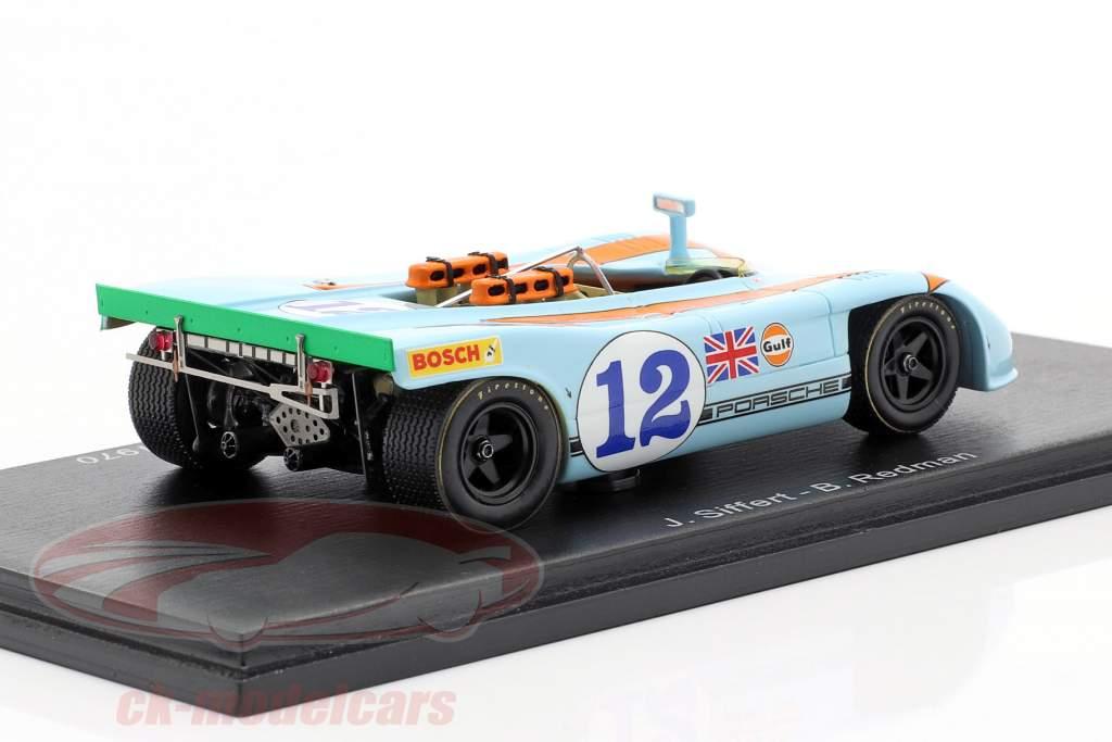 Porsche 908/03 #12 winner Targa Florio 1970 Siffert, Redman 1:43 Spark