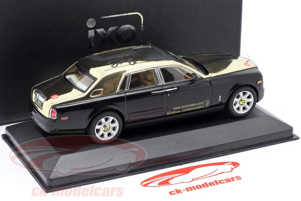 Rolls-Royce Phantom Year of The Snake - Nürnberg ToyFair 2013 sort 1:43 Ixo