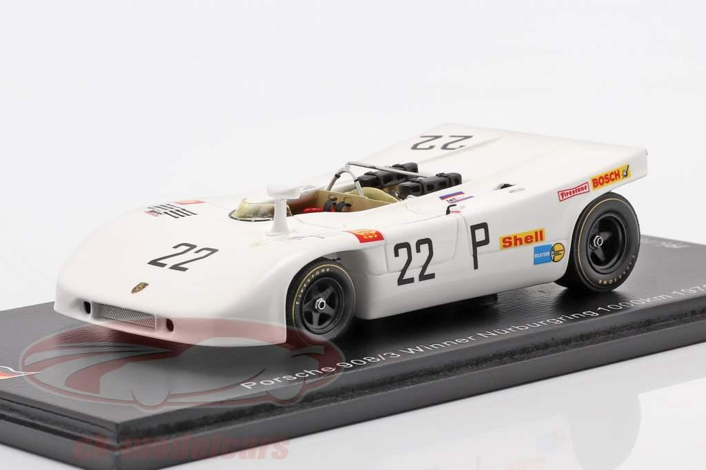 Porsche 908/03 #22 ganador 1000km Nürburgring 1970 Elford, Ahrens jr. 1:43 Spark