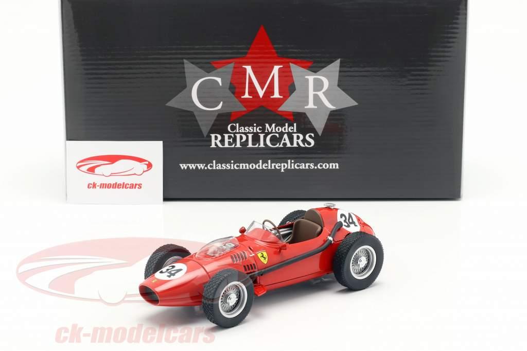 Luigi Musso Ferrari Dino 246 #34 2. plads Monaco GP formel 1 1958 1:18 CMR
