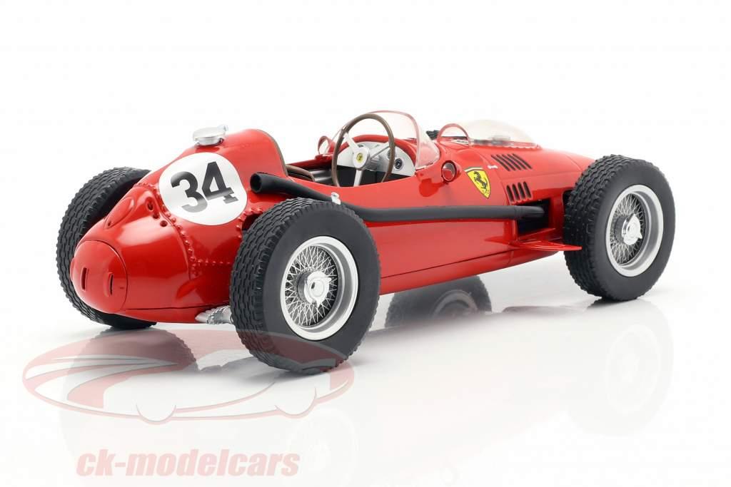 Luigi Musso Ferrari Dino 246 #34 2nd Monaco GP Formel 1 1958 1:18 CMR