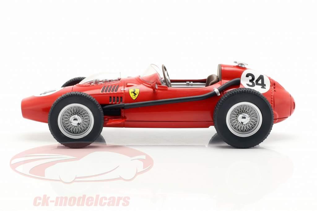 Luigi Musso Ferrari Dino 246 #34 2ª Mônaco GP Fórmula 1 1958 1:18 CMR