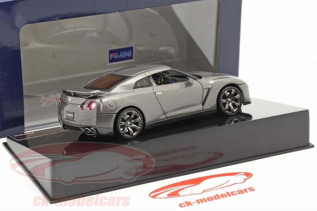 Nissan GT-R R35 Gray 1:43 Fujimi