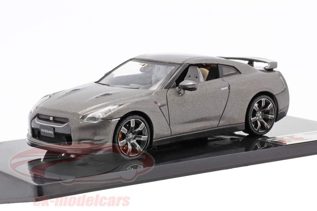 Nissan GT-R R35 Grå 1:43 Fujimi