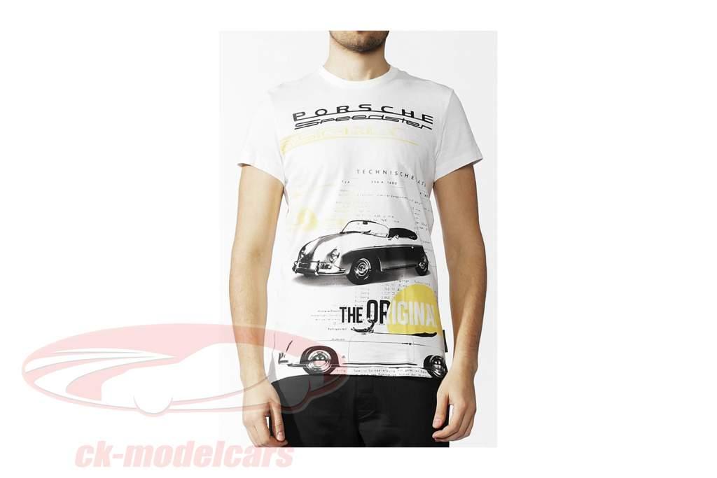 Porsche T-Shirt Porsche Speedster The Original Adidas weiß