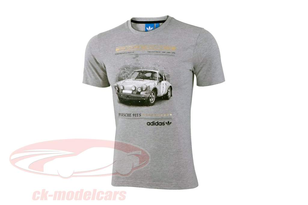 Porsche T-shirt Porsche 911 S The Hattrick Adidas grey