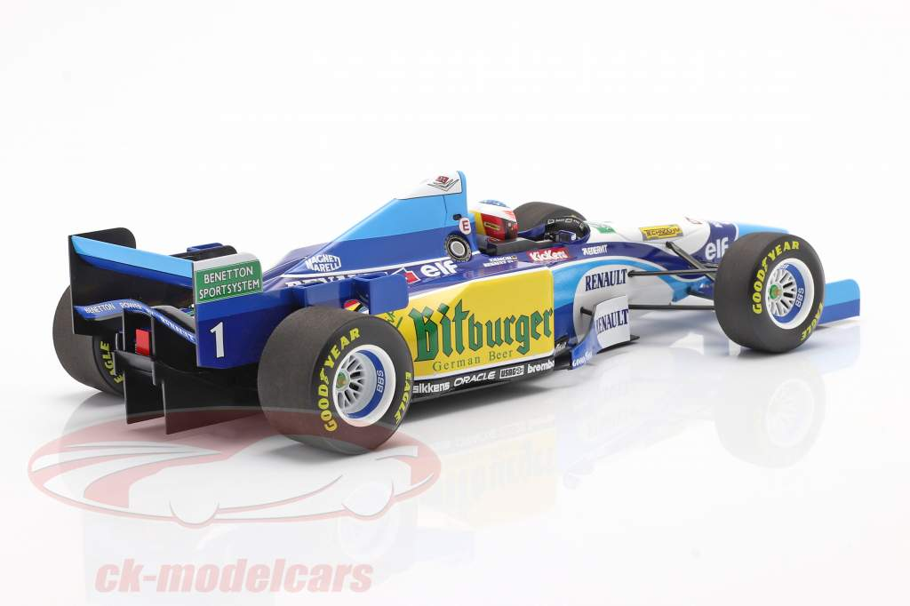 UNBRAND 3L050 1:18 DECAL 1995   Benetton Ford B195 Schumacher or