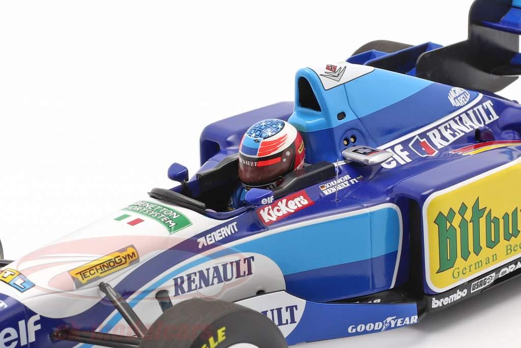 Michael Schumacher Benetton B195 #1 formule 1 Champion du monde 1995 1:18 Minichamps