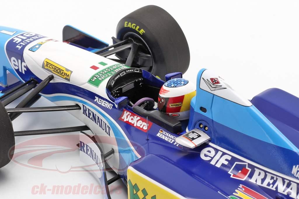 Michael Schumacher Benetton B195 #1 formel 1 Verdensmester 1995 1:18 Minichamps
