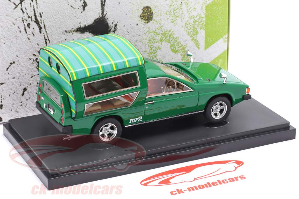 Toyota RV-2 year 1972 green 1:43 AutoCult