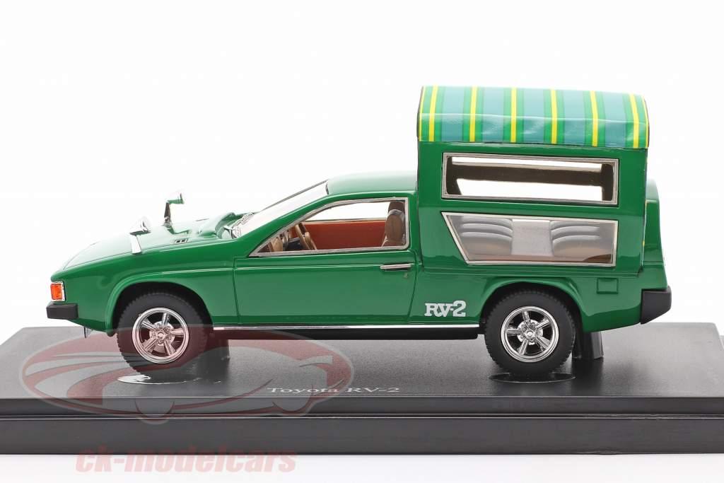 Toyota RV-2 Baujahr 1972 grün 1:43 AutoCult