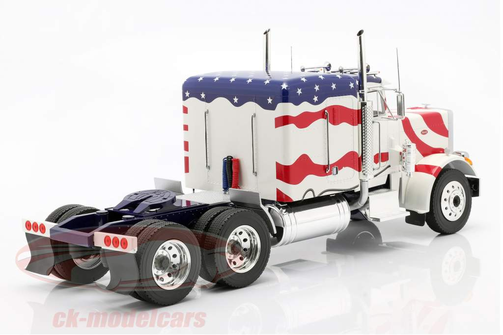 Peterbilt 359 Bull Nose Camión 1967 Stars and Stripes 1:18 Road Kings