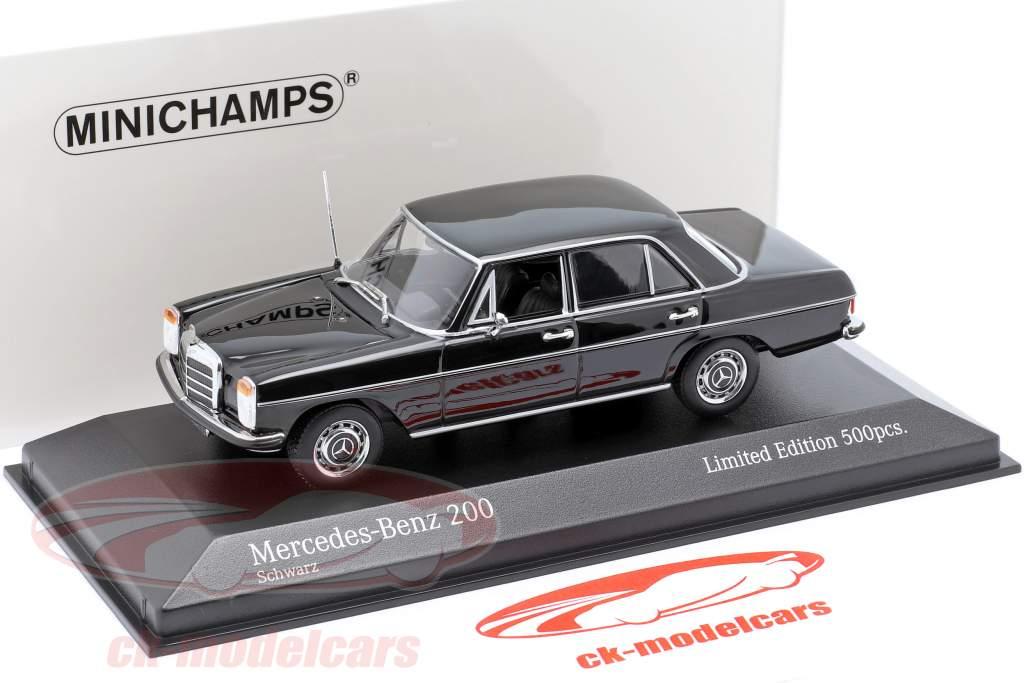 Mercedes-Benz 200D (W114/115) Baujahr 1968 schwarz 1:43 Minichamps