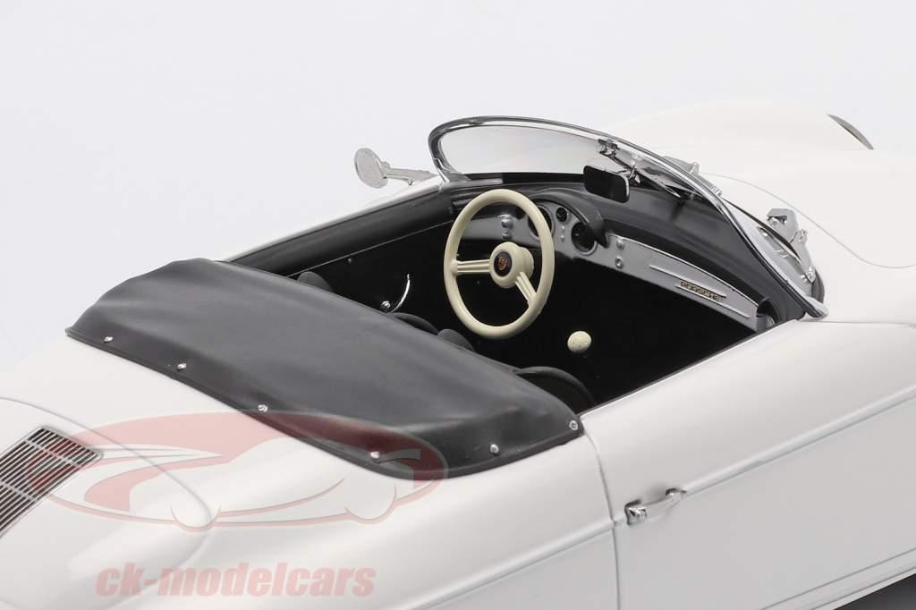 Porsche 356 Speedster Bouwjaar 1954 Wit 1:18 Norev