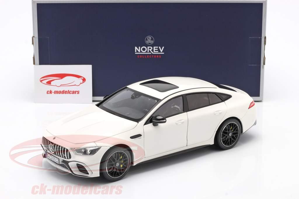 Mercedes-Benz AMG GT S 4 Matic+ Byggeår 2019 hvid 1:18 Norev