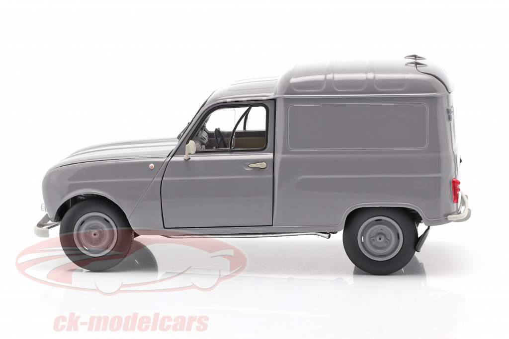 Renault 4 Fourgonnette Ano de construção 1965 cinzento 1:18 Norev