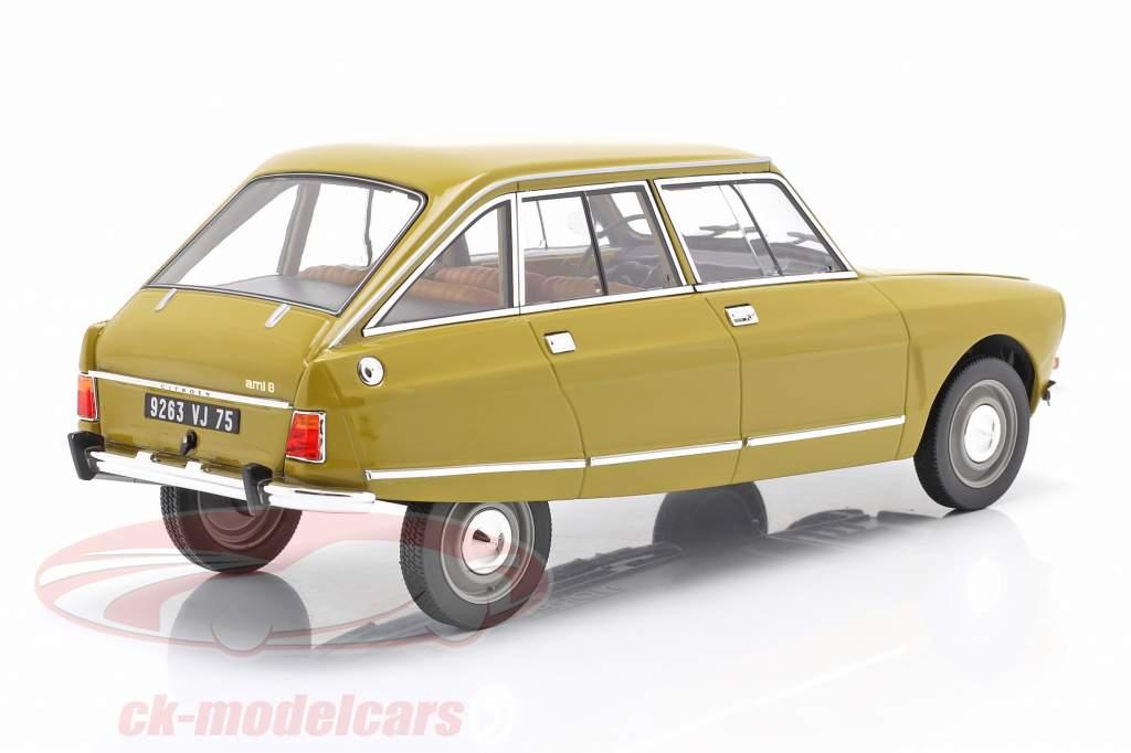 Citroen Ami 8 Club Año de construcción 1969 amarillo dorado 1:18 Norev