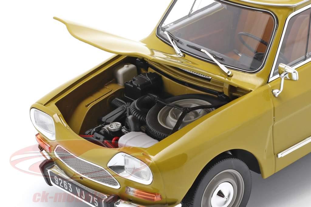 Citroen Ami 8 Club Anno di costruzione 1969 giallo dorato 1:18 Norev