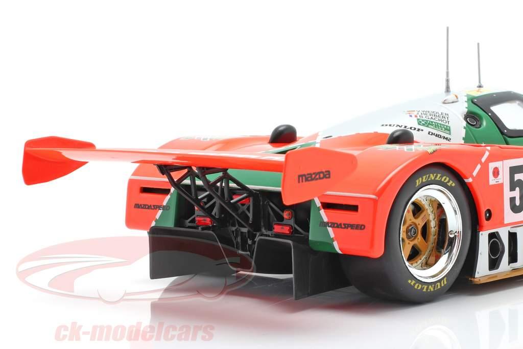 Mazda 787B #55 优胜者 24h LeMans 1991 Weidler, Herbert, Gachot 1:18 CMR