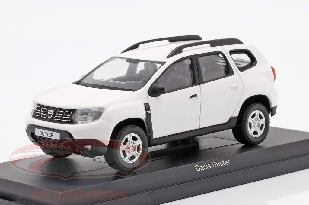 Dacia Duster year 2018 white 1:43 Norev