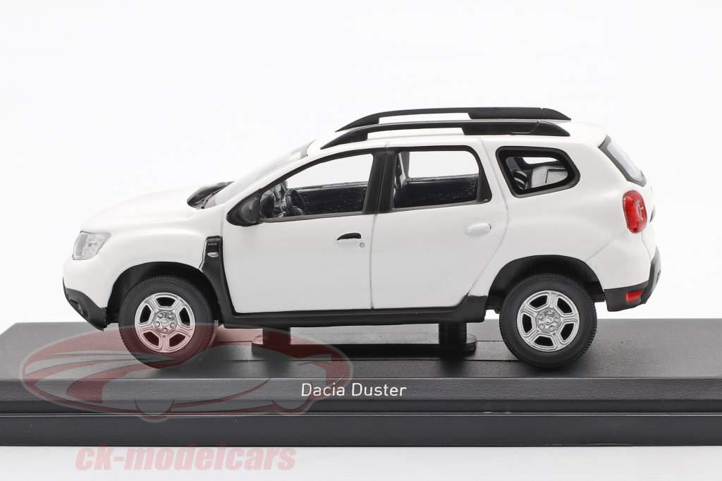 Dacia Duster Baujahr 2018 weiß 1:43 Norev