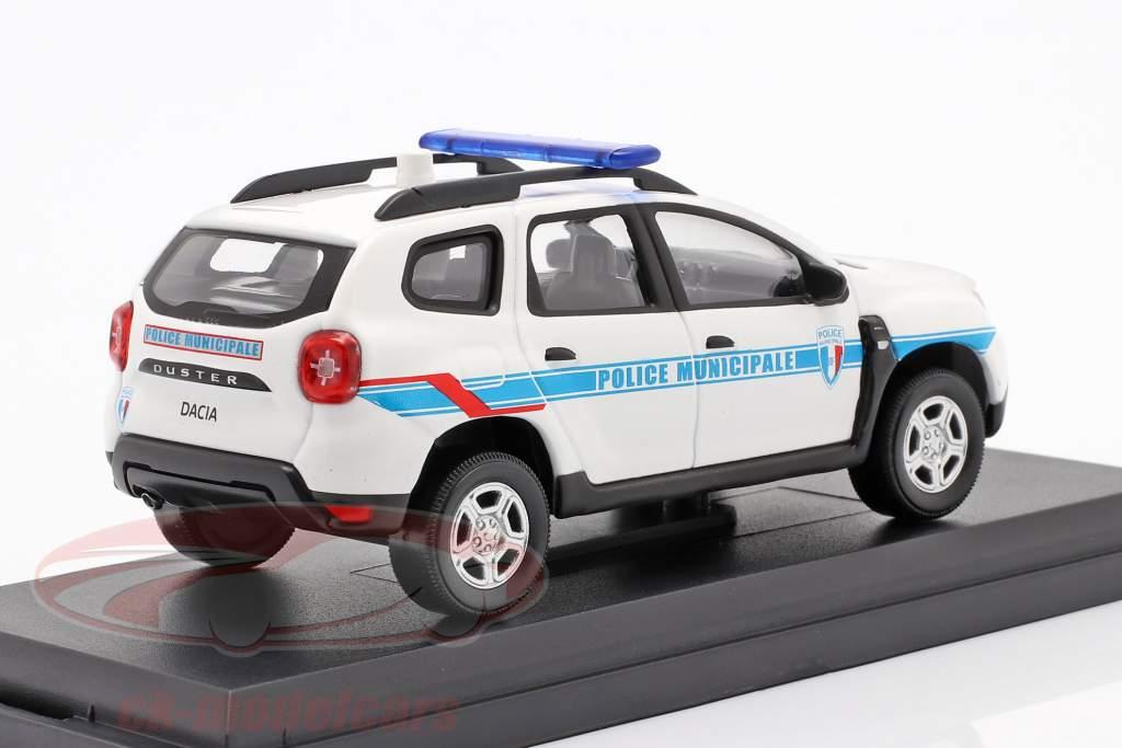 Dacia Duster Police Municipale 2018 weiß / blau 1:43 Norev