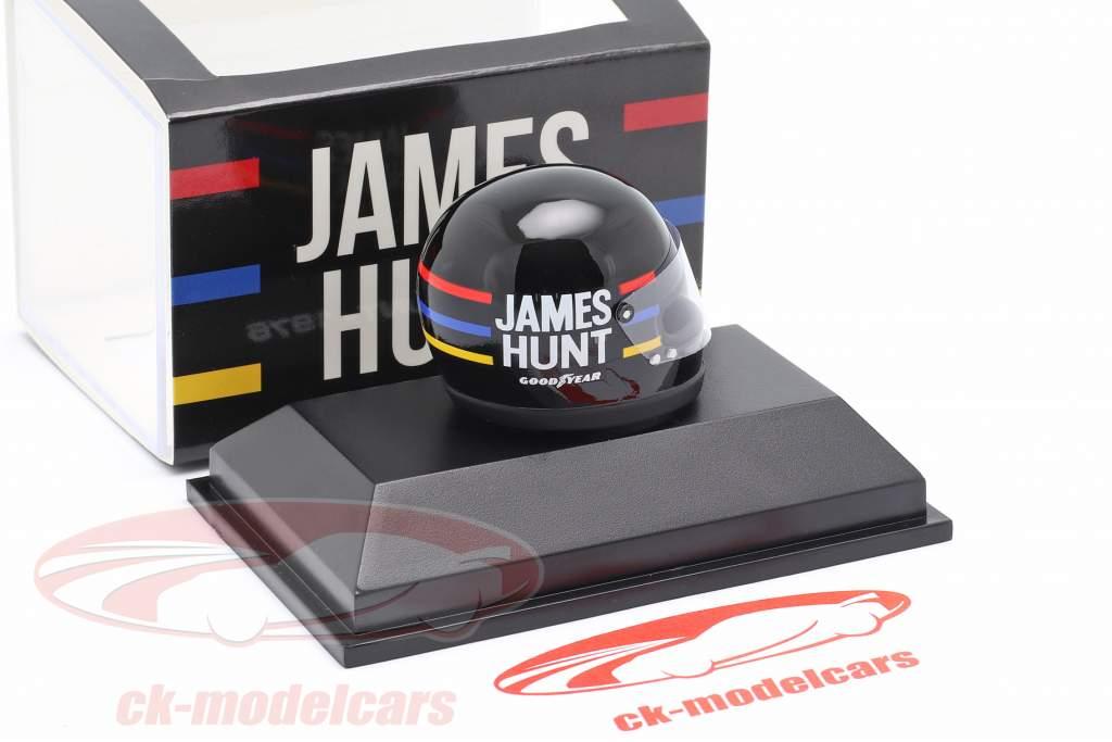 James Hunt McLaren M23 #11 fórmula 1 Campeón mundial 1976 casco 1:8 MBA