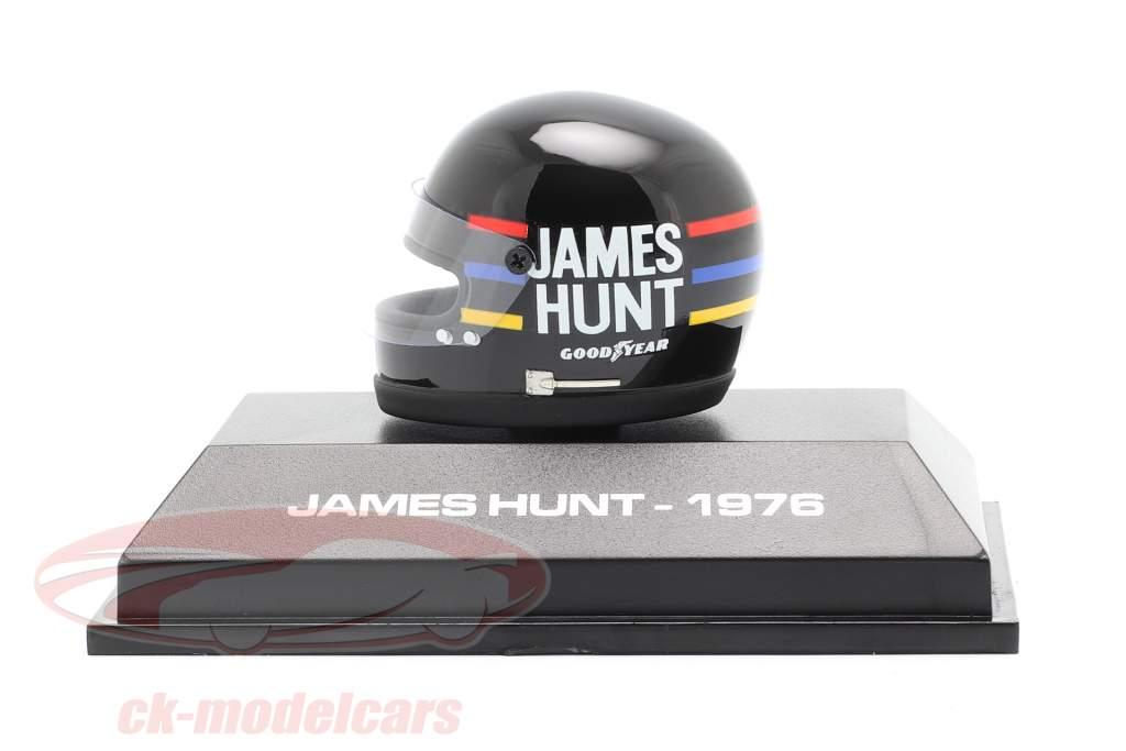 James Hunt McLaren M23 #11 formule 1 Wereldkampioen 1976 helm 1:8 MBA