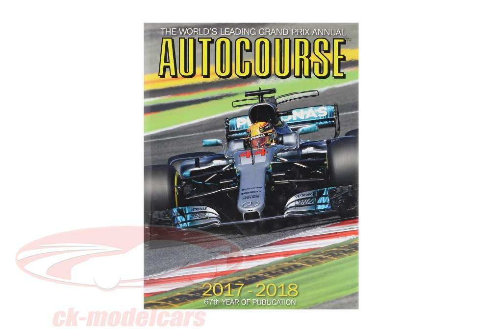 Boek: AUTOCOURSE 2017-2018: The World's Leading Grand Prix Annual (Engels)