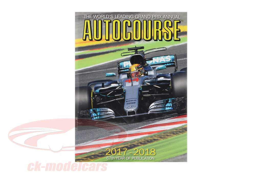 Buch: AUTOCOURSE 2017-2018: The World's Leading Grand Prix Annual (englisch)