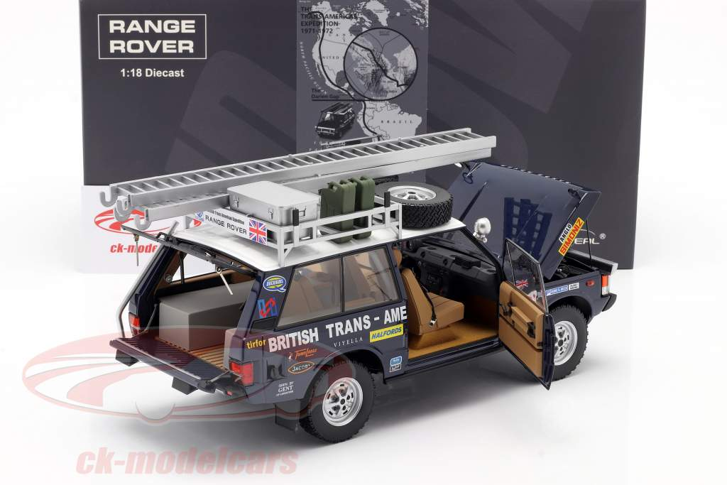 Land Rover Range Rover British Trans-Americas Expedition 1971-72 1:18 Almost Real