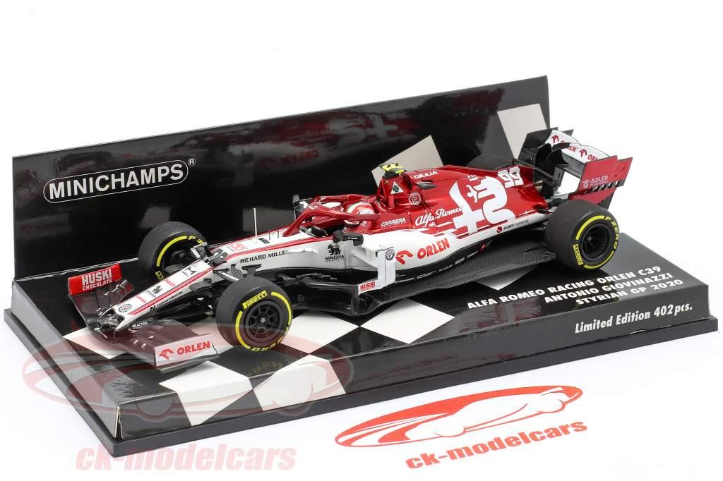 Antonio Giovinazzi Alfa Romeo Racing C39 #99 formula 1 2020 1:43 Minichamps