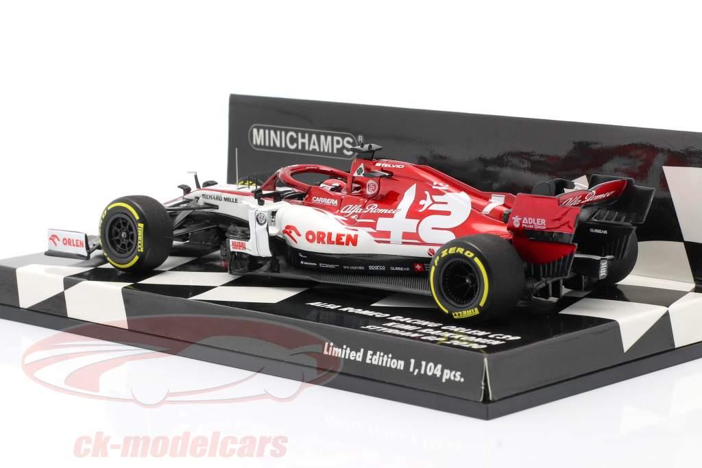 Kimi Räikkönen Alfa Romeo Racing C39 #7 formule 1 2020 1:43 Minichamps