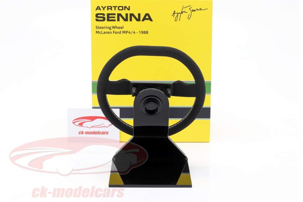 Ayrton Senna McLaren MP4/4 formula 1 World Champion 1988 steering wheel 1:2 Minichamps