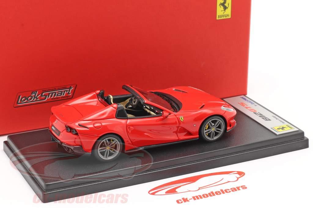 Ferrari 812 GTS Spider Baujahr 2019 scuderia rot 1:43 LookSmart