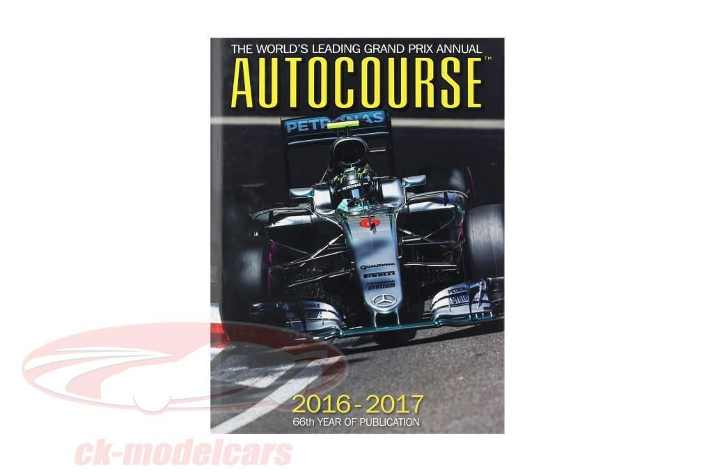 Livro: AUTOCOURSE 2016-2017: The World's Leading Grand Prix Annual (Inglês)