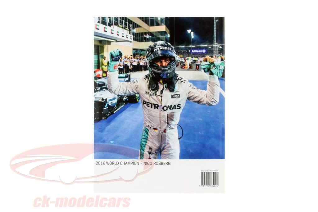 Book: AUTOCOURSE 2016-2017: The World's Leading Grand Prix Annual (English)