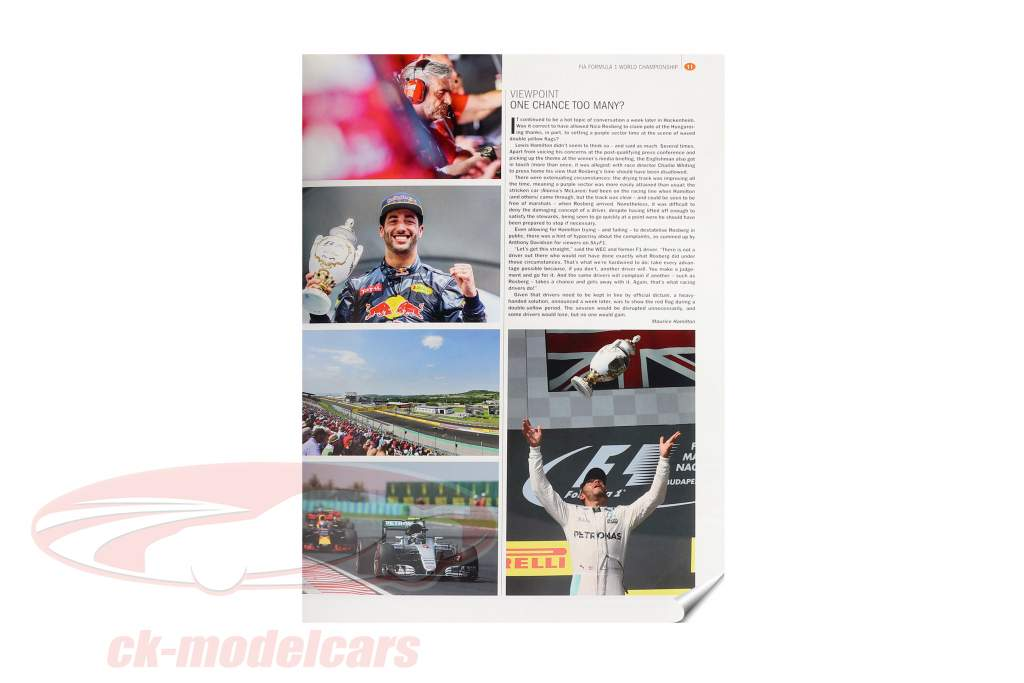 Livre: AUTOCOURSE 2016-2017: The World's Leading Grand Prix Annual (Anglais)