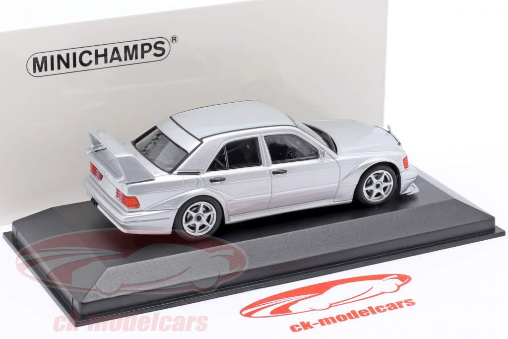 Mercedes-Benz 190E 2.5-16 Evo 2 Byggeår 1990 sølv 1:43 Minichamps