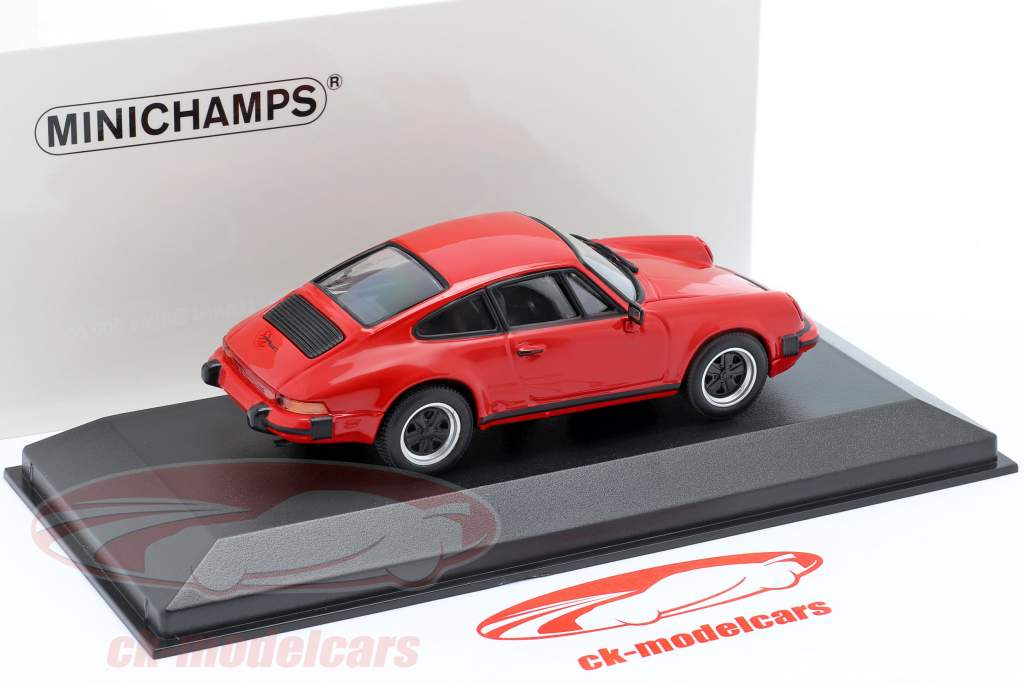 Porsche 911 SC Coupe Bouwjaar 1979 rood 1:43 Minichamps