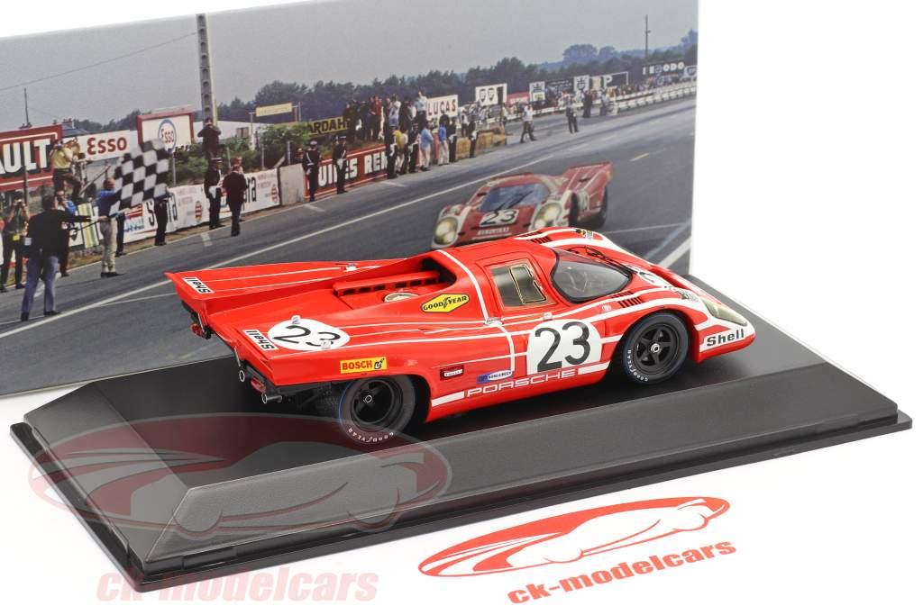 Porsche 917 K #23 Ganador 24h LeMans 1970 Attwood, Herrmann 1:43 Spark